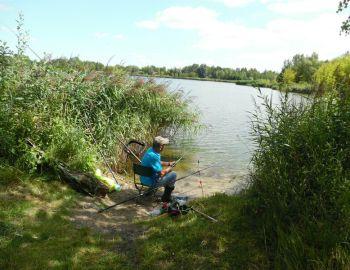 Towarzyskie wędkowanie na łowisku Jelonki - Przyborowie 31.07.2019